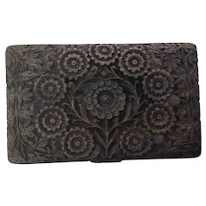 Beautifully Carved Full Floral Box
