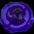 Cobalt Tidbit Tray