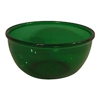 "Anchor Hocking Forest Green 6"" Mixing Bowl"