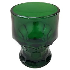 Anchor Hocking Forest Green Georgian Tumblers