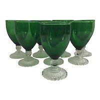 Set of 8 Anchor Hocking Boopie, Bubble or Berwick Glasses