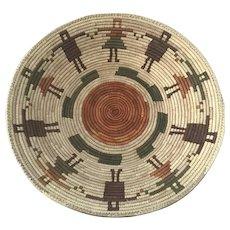Tohono O'odham Papago Figural Basket