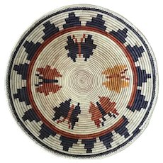 Native American Beautiful Navaho Butterfly Basket