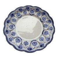 Haddon Grindley Flow Blue Plate
