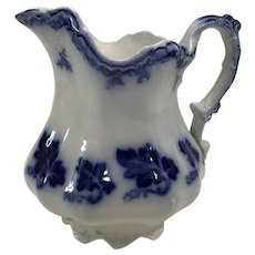 Johnson Brothers Flow Blue Normandy Pattern Small Pitcher