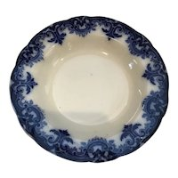 Wood and Sons Flow Blue Rimmed Bowl