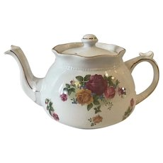 Arthur Wood & Son Teapot with Roses