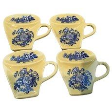 4 Spode Tea Bag Holders
