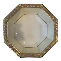 Rosenthal Bavarian Large Octagonal Hand Painted Bowl