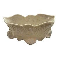 Belleek Lily of the Valley Trinket Dish/ Open Sugar