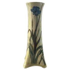 Art Nouveau Porcelain Vase signed Czechoslovakia with signature