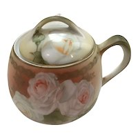 R.S. Germany Mustard Pot with Spoon