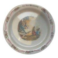 Baby Bowl Wedgwood Peter Rabbit