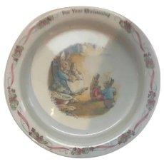 Wedgwood Peter Rabbit Baby/Toddler Bowl