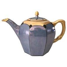 Bohemian Lustre Teapot