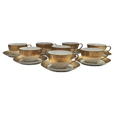 Set of 11 Hutschenreuther Selb Cups and Saucers