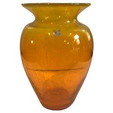"""Large Blenko Vase 12"""""""