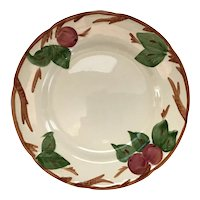 """Set of 2 Franciscan Ware Apple 11""""  Plates"""