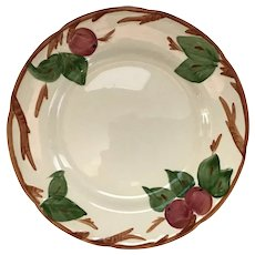 "Set of 2 Franciscan Ware Apple 11""  Plates"