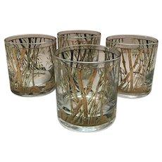 Culver Bamboo Vintage Rocks Glasses