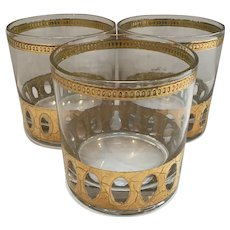 Set of 3 Culver Antigua Glasses