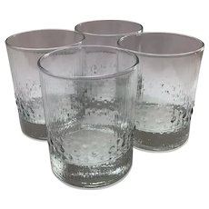 Set of 4 Iittala  Niva Rocks Glasses