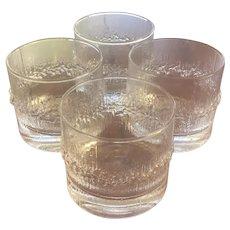 Set of 4 Iitala Niva Aquavit Glasses