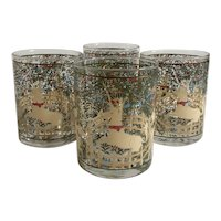 Set of 4 Cera Unicorn in Captivity Glasses