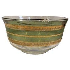 Culver Glass Chip Bowl