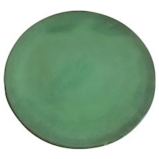 """Catalina Island Pottery Descano Green Charger Plate 14"""""""