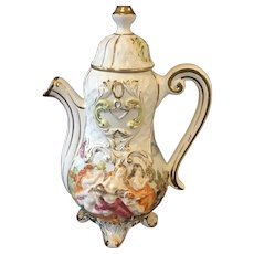 Capodimonte Lidded Pitcher