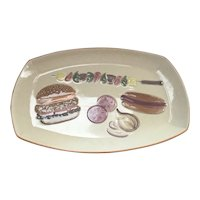 Los Angeles Potteries Large Outdoor Party Platter