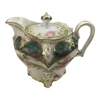 Unmarked R.S. Prussia Syrup Pitcher