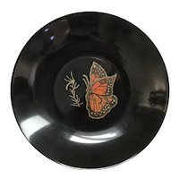 Couroc of Monterey Small Monarch Butterfly Dish
