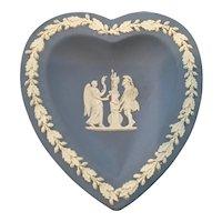 Wedgwood Heart Shaped Trinket Dish