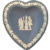 Wedgwood Heart Shaped Trinket Dish
