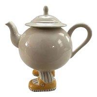 Walking Teapot and 6 Walking Teacups by Carlton Ware
