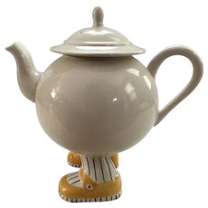 Carlton Ware Walking Ware Tea Set with Teapot and 6 Teacups