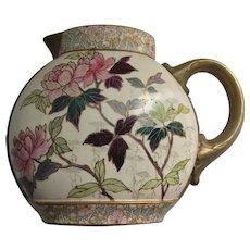 Early Royal Doulton Burslem Hand Painted Signed Handled Vase