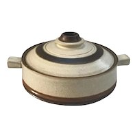 Denby Pottery Potters Wheel Covered Casserole Dish