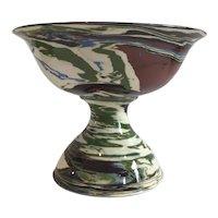 Large Desert Sands Pedestal Bowl