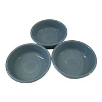 Set of 3 Fiesta Ware Cereal Bowls in Periwinkle