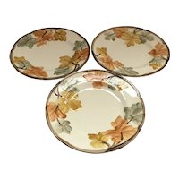 Set of 6 Franciscan Autumn Luncheon Plates