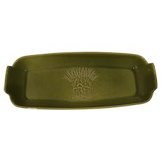 Franciscan Ware Bread Server in Winter Green
