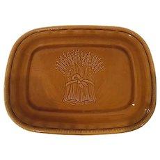 Franciscan Ware Wheat Brown Platter,