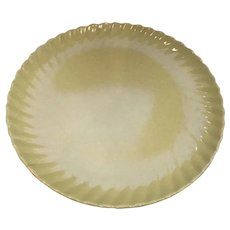 "Franciscan Ware Coronado Large 14 1/2"" Yellow Platter"