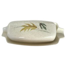 Franciscan Autumn Leaves Butter Dish