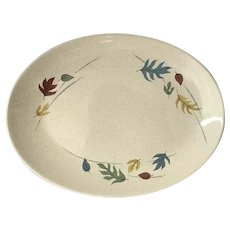 Franciscan Ware Fall Leaves Platter