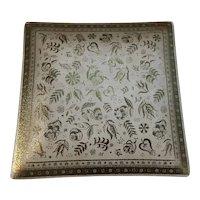 George's Briard Persian Garden Square Plate