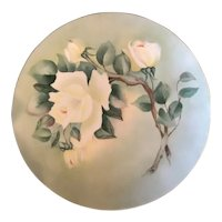 Hand Painted Signed Franciscan Fine China Plate